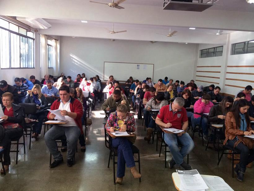 Registro do Simulado Preparatório para o ENADE em Paranavaí