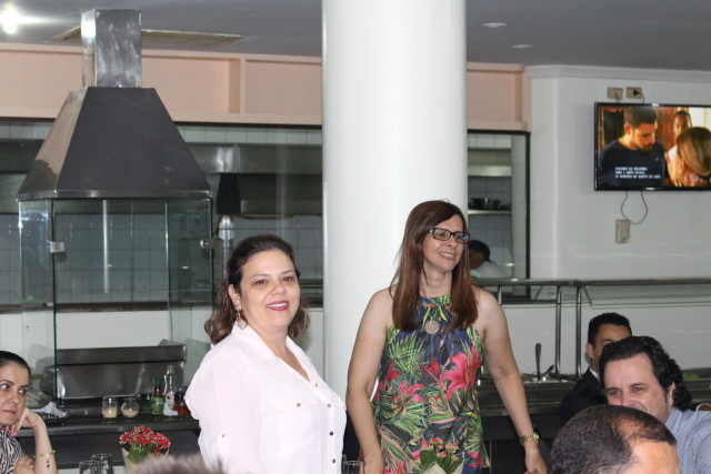 Professoras Ana Cristina Codato e Isabel Gozer