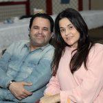 Com a esposa Rosilamar, Carlos Eduardo Garcia prestigia confraternização