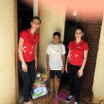 As doações arrecadadas pela iniciativa do Polo Unipar EAD de Francisco Beltrão foram distribuídas entre famílias aleatórias dos locais mais carentes da cidade.