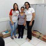 As doações arrecadadas pelo polo de Cascavel foram destinadas ao projeto Natal Solidário da Rádio Capital, paróquias e famílias carentes da cidade.