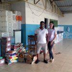 A entidade beneficiada pelas doações arrecadadas pelo Polo Unipar EAD de Umuarama foi o Abrigo da Tia Lili
